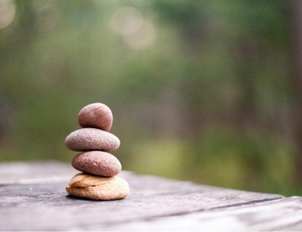 Leren doseren - stapel stenen afbeelding