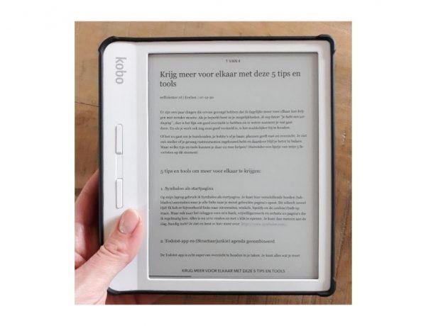 Pocket gebruiken - artikel weergave op e-reader