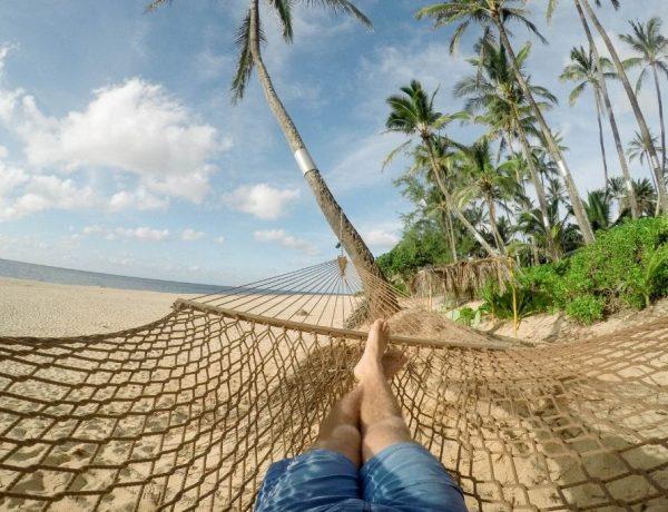 De 7 soorten rust - in hangmat op strand