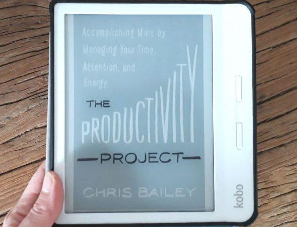 The Productivity Project - Boek van de maand - Eefficiënter